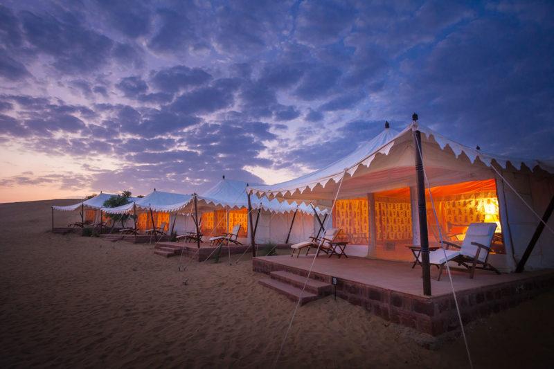 luxurious desert hotels
