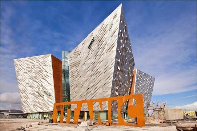 Belfast shipyard Titanic