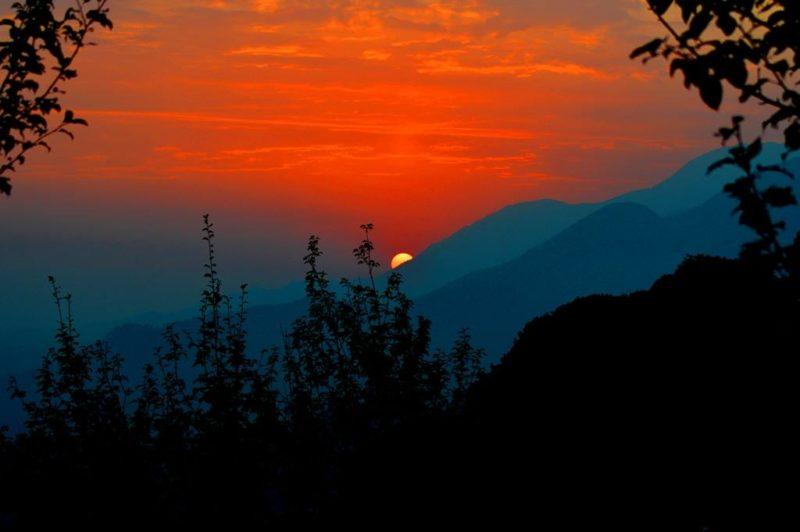 Bir Billing - Sun-set-Bir-Billing-Himachal-Pradesh