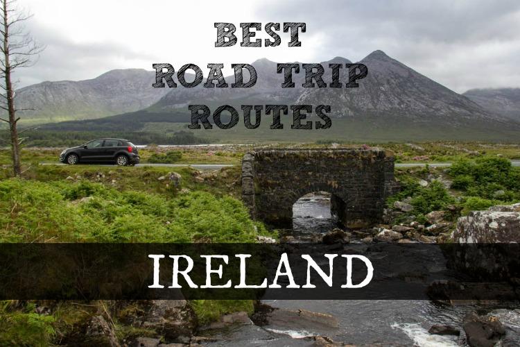 Ireland amazing roads