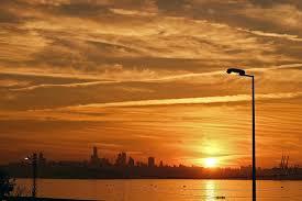 amezing sunseta